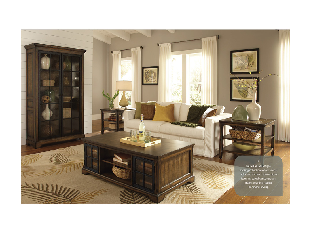 Catalog for LaurelHouse Designs, furniture manufacturer