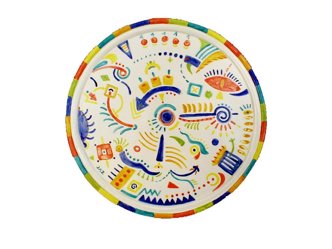 JZH - Clay Platter Doodles
